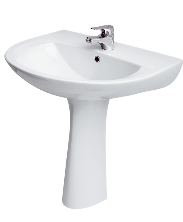 Arteca 500 x 455mm 1/2 Tap Hole Basin Sink