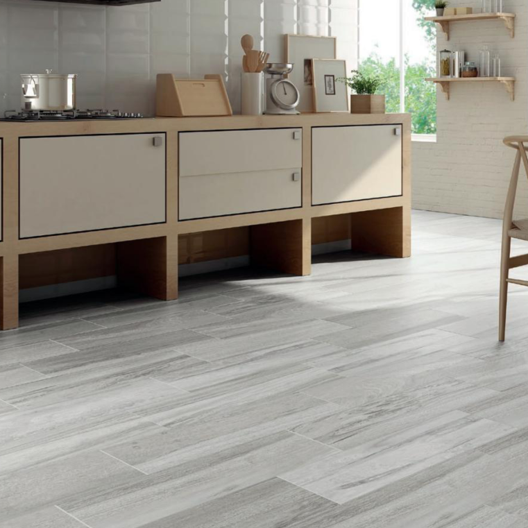 Amento Gris Wood Effect Porcelain