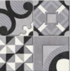Foro Gris Patterned Wall Ceramic