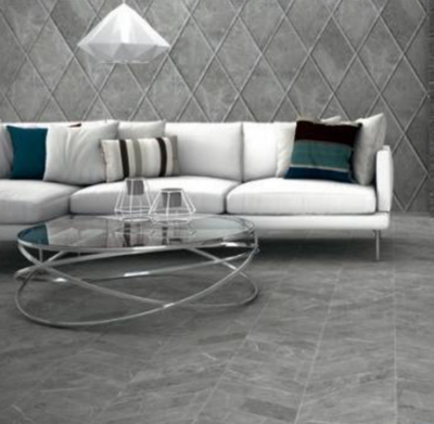 Diamond Brume Chevron Porcelain