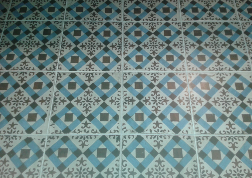 Yorkshire Blue Victorian Tile