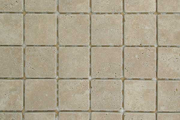 Travertine Tumbled Mosaic Tile