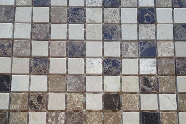 Mixed Marble Mosaic
