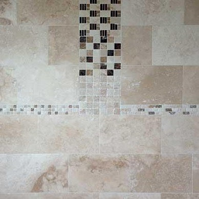 Honed & Filled Travertine Tiles