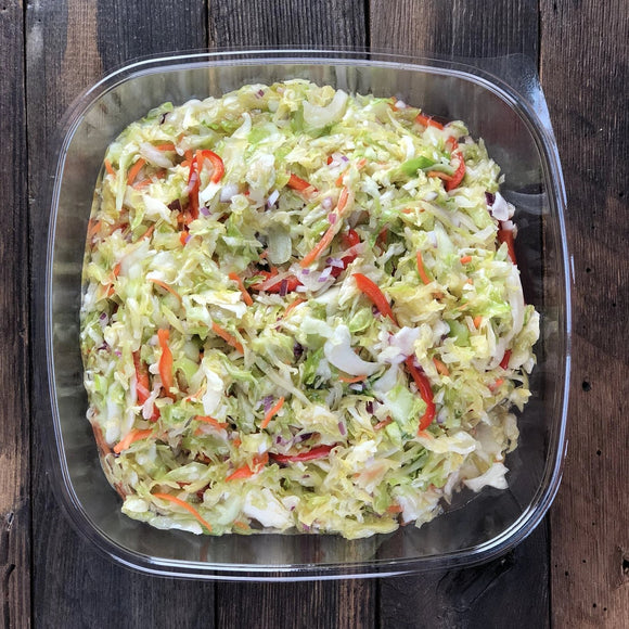 Catering Marinated Coleslaw