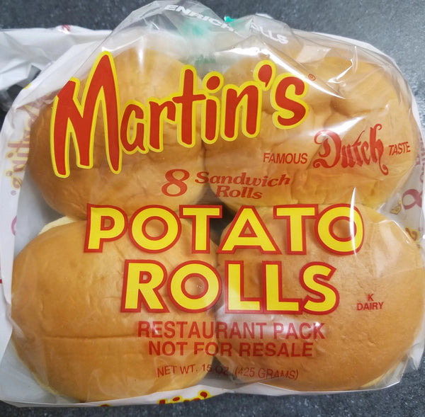 Potato Rolls - 8 pack