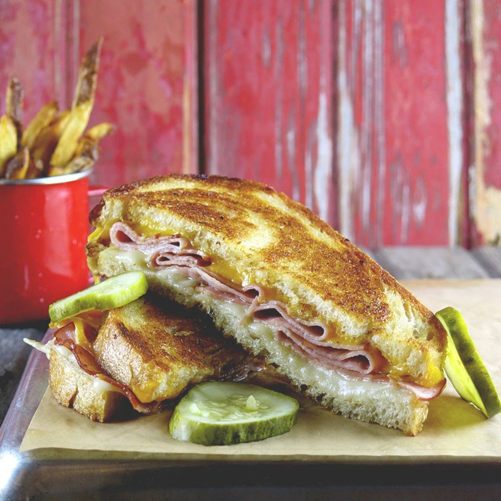 Grilled Ham & Cheese Sandwich
