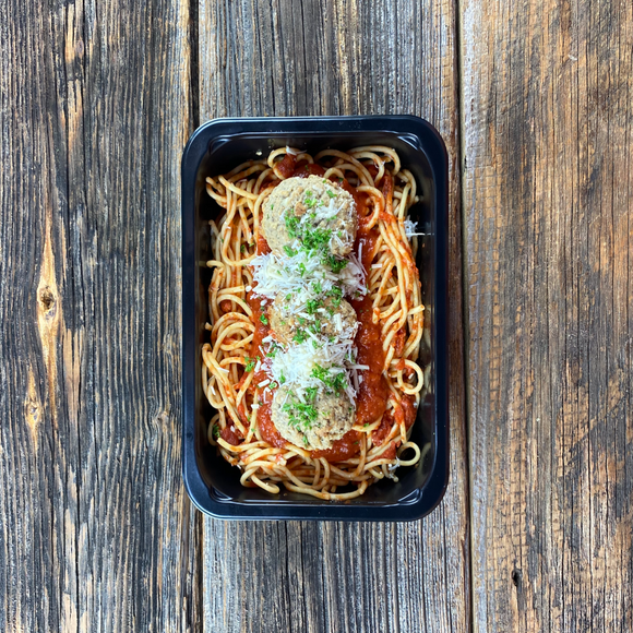 Tuesday Special (Spaghetti & Meatballs)