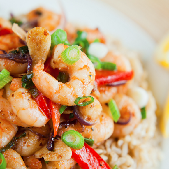 Friday Special (Shrimp Stir-Fry)