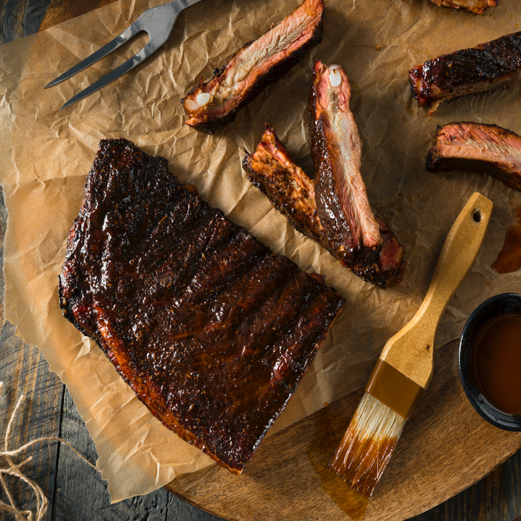Roots Slow Cooked BBQ Ribs