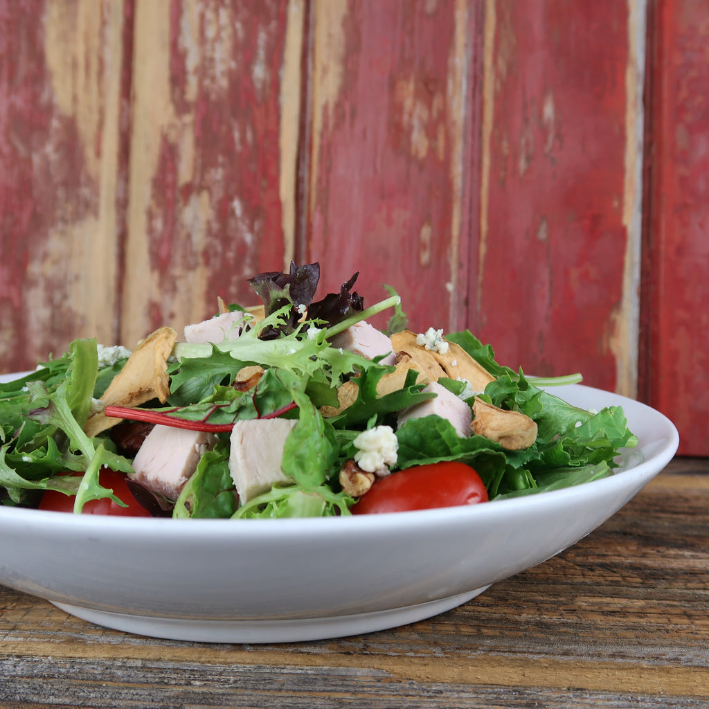 Smoked Turkey Salad - Turkey AVAILABLE after 12:30PM; Upgrade to Brisket Anytime