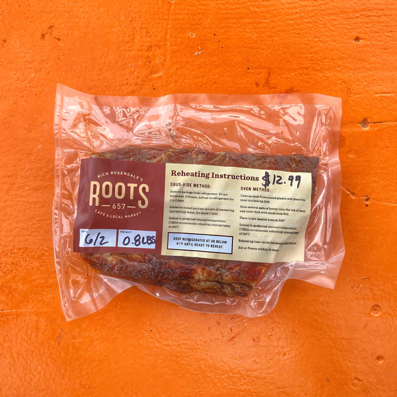 Roots Slow Cooked BBQ Ribs (Heat & Eat)