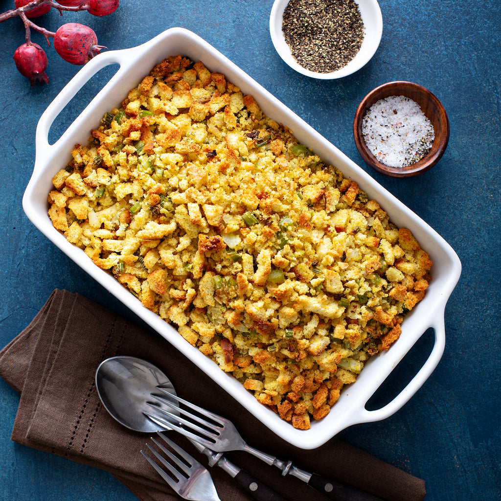 Holiday Traditional Bread Stuffing