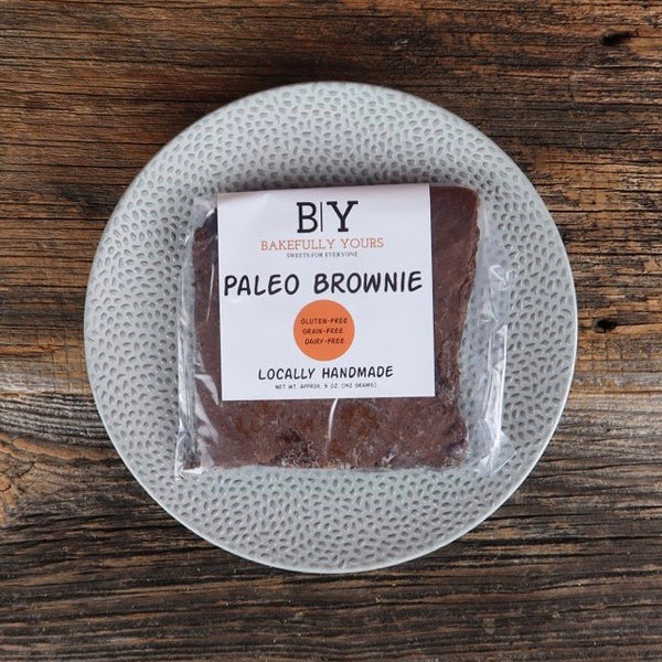 Bakefully Yours - Paleo Brownie