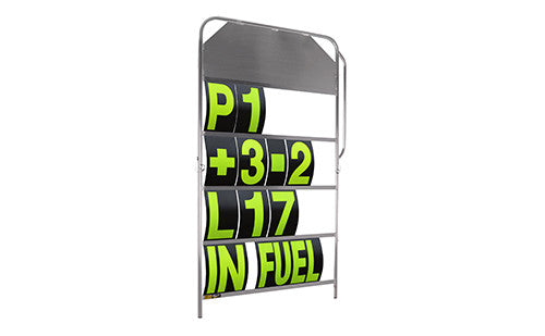 Pitboards, Race Numbers & Decals