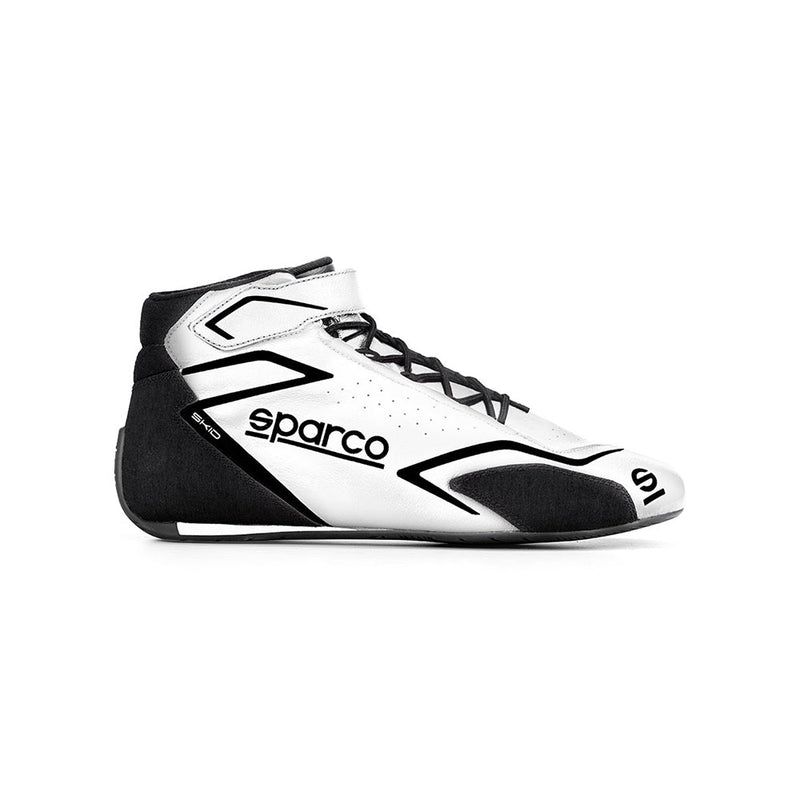 Sparco Skid Race Boot White Black