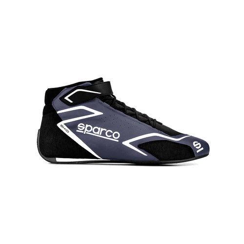 Sparco Skid Race Boot Black Grey