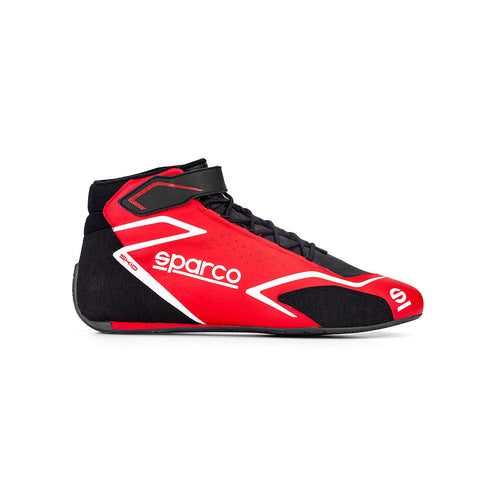 Sparco Skid Race Boot Red Black