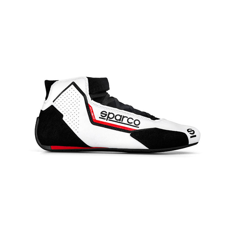 Sparco X-Light Race Boot White Red