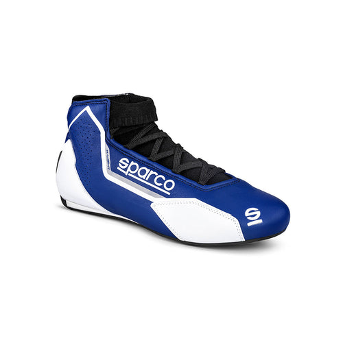 Sparco X-Light Race Boot Blue White