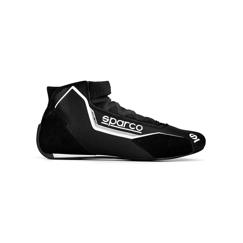 Sparco X-Light Race Boot Black White
