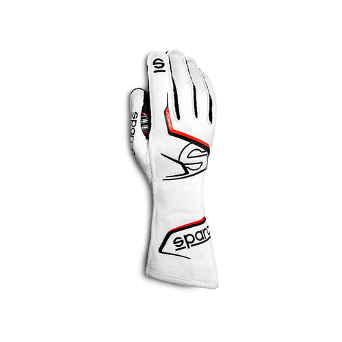 Sparco Arrow Race Glove White Black