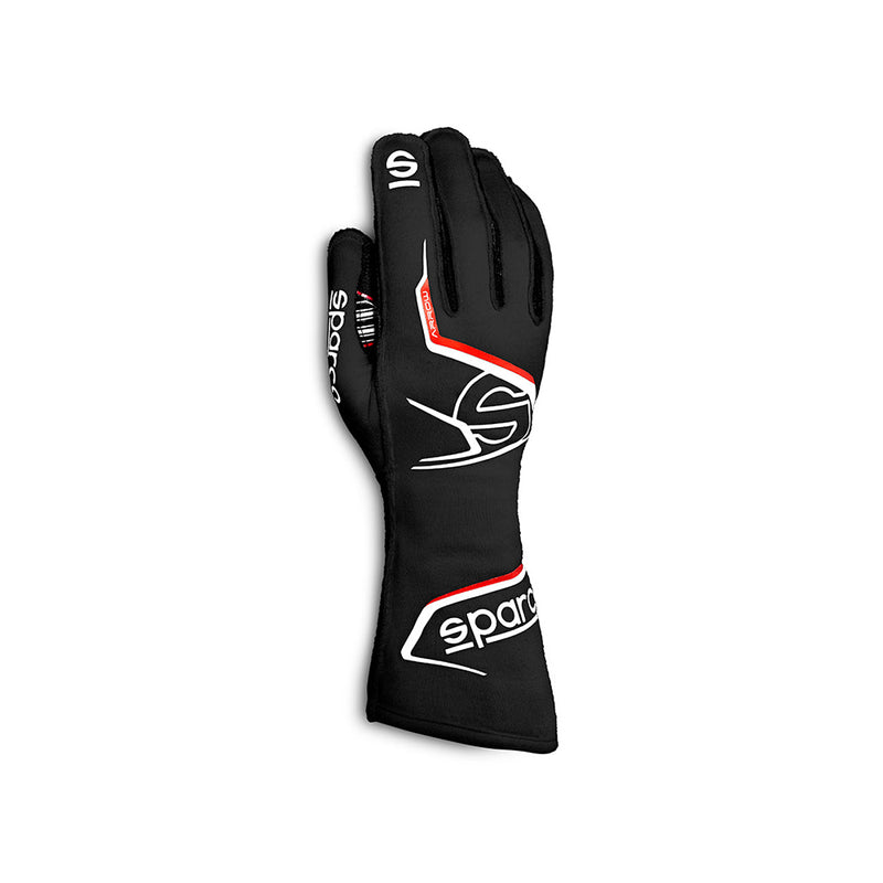 Sparco Arrow Race Glove Black Red