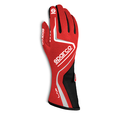 Sparco Lap Race Glove Red Black
