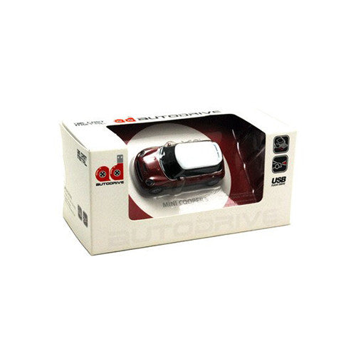 Mini Cooper Red 4GB Memory Stick