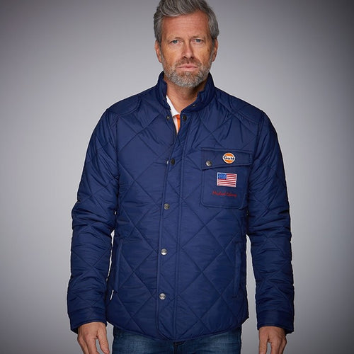 Dakota GP Gulf Old Racemaster Jacket Blue