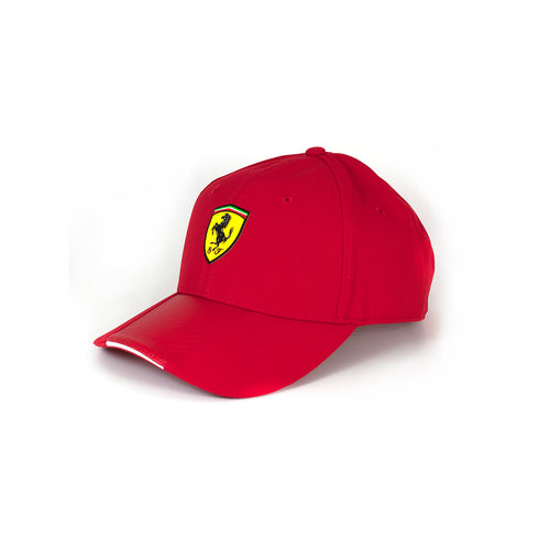 Ferrari Carbon Stripe Cap Red