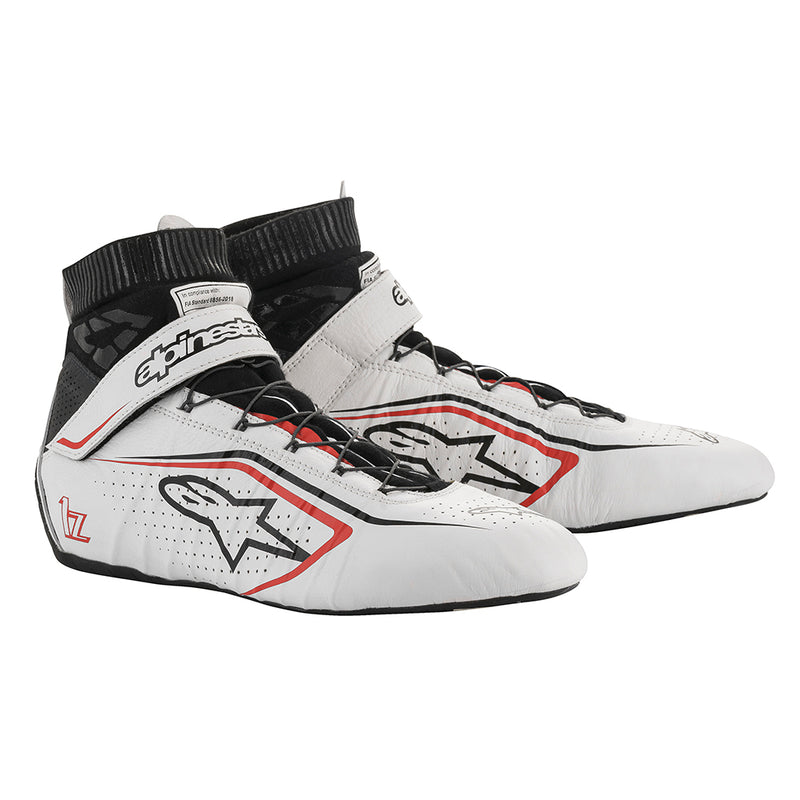Alpinestars Tech 1Z V2 Shoes White Black Red