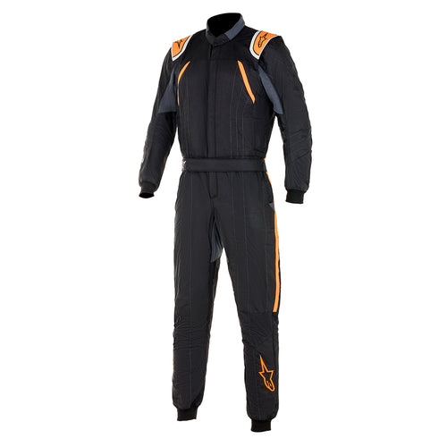 Alpinestars GP Pro Comp Racesuit Black Fluro Orange