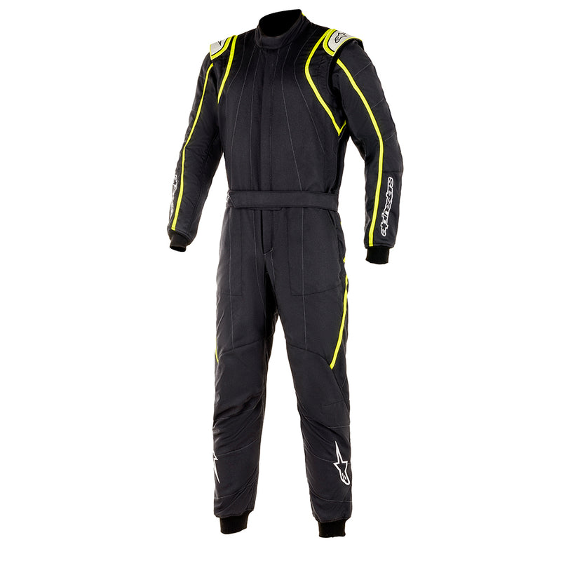 Alpinestars GP Race V2 Racesuit Black Fluro Yellow