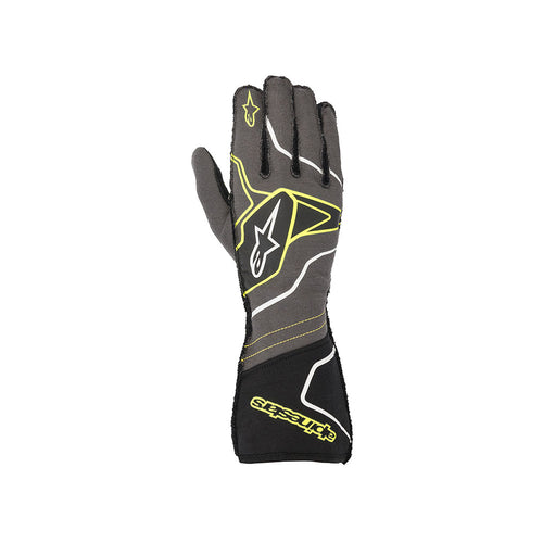 Alpinestars Tech 1 ZX V2 Glove Anthracite Fluro Yellow Black