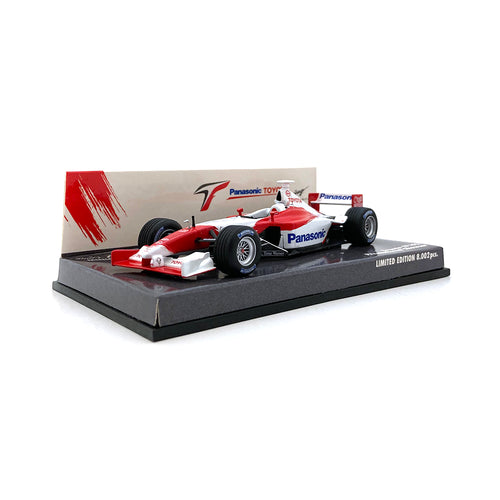 Minichamps 1/43 2002 Toyota TF102 Promotional Showcar