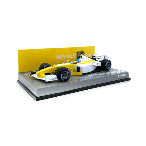 Minichamps 1/43 2002 Renault B201 Button Testcar