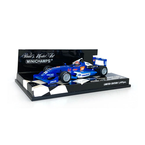Minichamps 1/43 2002 Dallara F3 Signed by Nelson Piquet