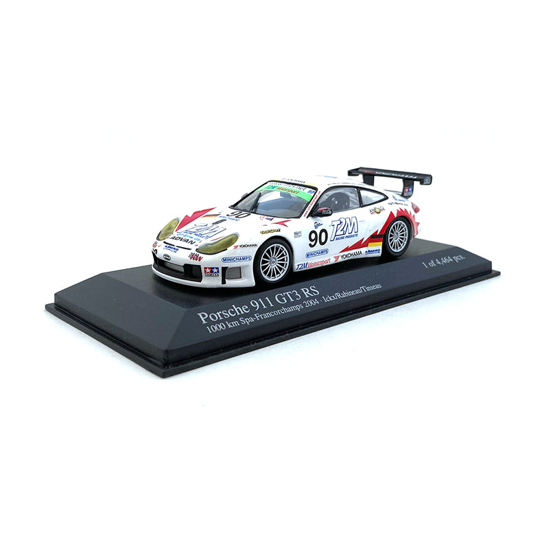 Minichamps 1/43 2004 Porsche 911GT3 RS Spa #90 00046980