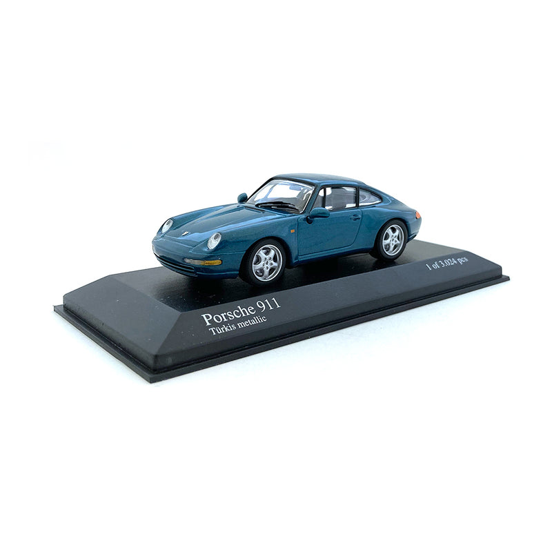 Minichamps 1/43 1993 Porsche 911 Green