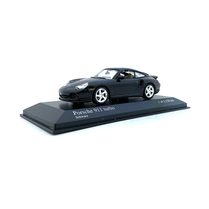 Minichamps 1/43 2000 Porsche 911 Turbo Black 430069309