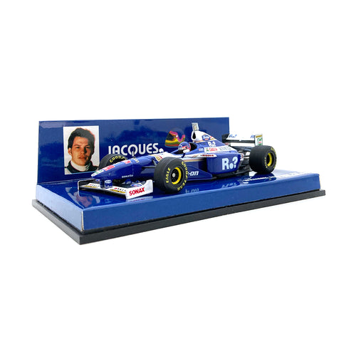 Minichamps 1/43 1997 Williams FW19 Villeneuve Barcode