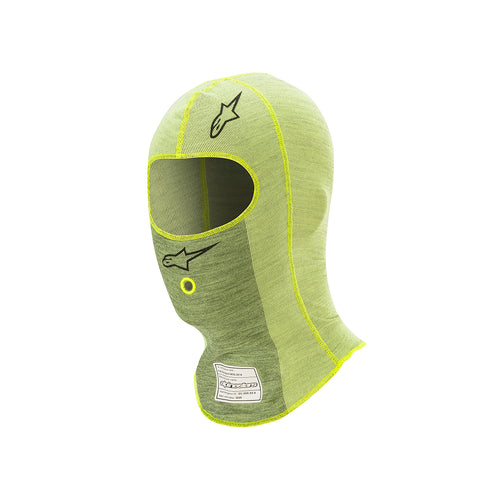 Alpinestars ZX Evo V2 Balaclava Fluro Yellow Dark Yellow