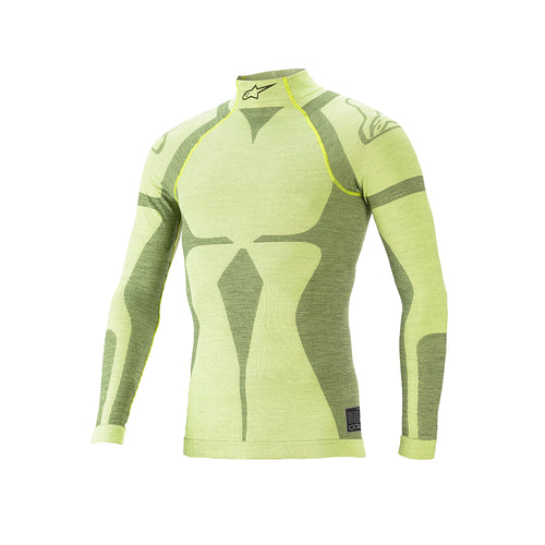 Alpinestars ZX Evo V2 Top Fluro Yellow Dark Yellow