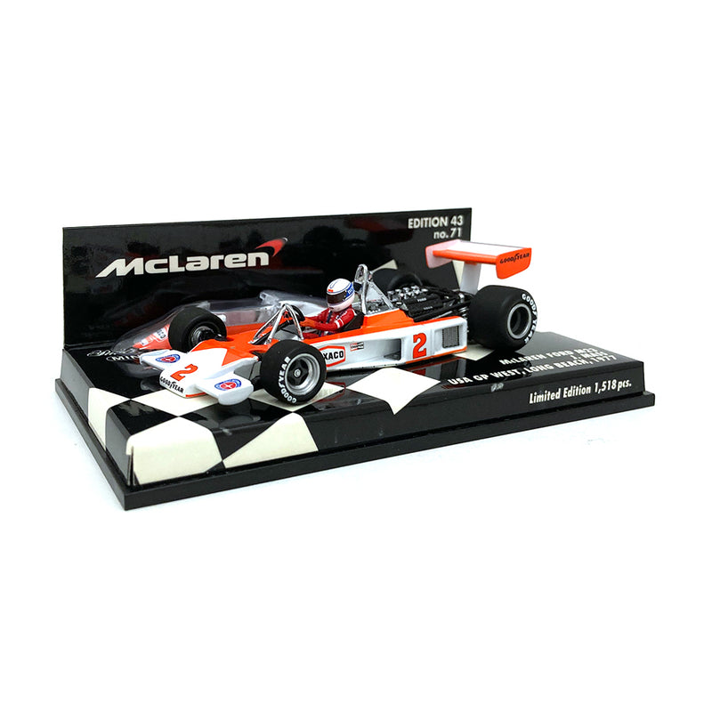 Minichamps 1/43 1977 McLaren M23 Mass USA GP West