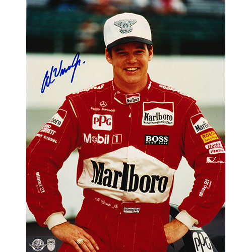 Signed Photograph - Al Unser Jr