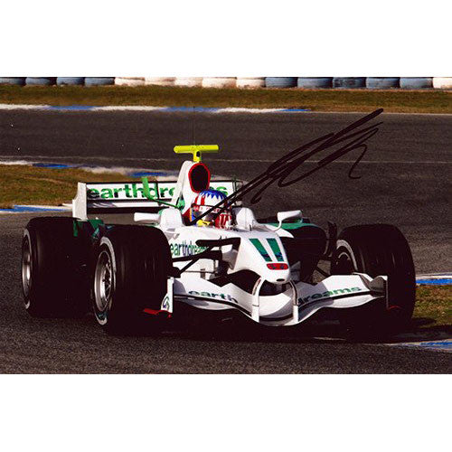Signed photograph - Alex Wurz
