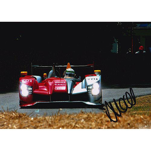Signed Photograph - Allan McNish 2010 Audi R15
