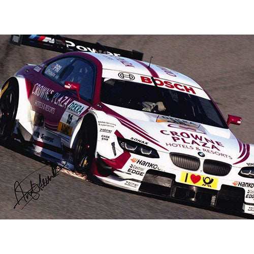 Signed Photograph - Andy Priaulx