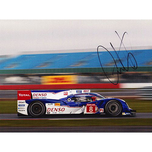 Signed Photograph - Anthony Davidson Toyota TS030 Hybrid